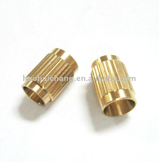Auto Turned C26800 Brass Straight Grained Fastners Nut Bolt