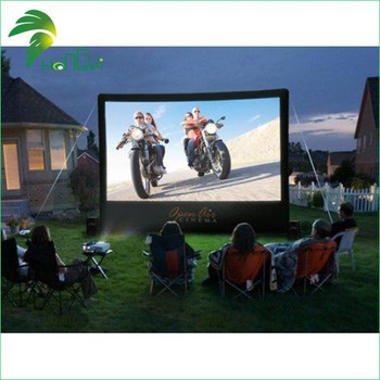 Attractive price inflatable projection screen