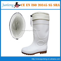 Cheap new arrival orange pvc boots