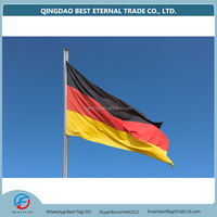 promotional germany flag with custom pole