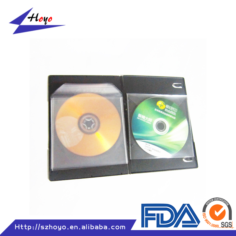 custom cd dvd plastic bags self adhesive cd sleeve packing