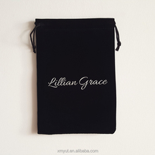 custom printed velvet jewelry pouch/velvet bag