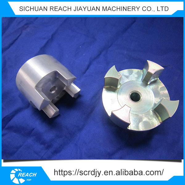 Professional Manufacturer electric motor jaw shaft coupling