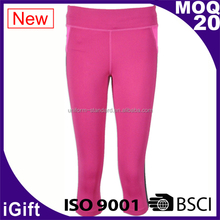 BSCI / ISO 9001 Golf women trousers/pants 100%cotton woven casual lagging for women