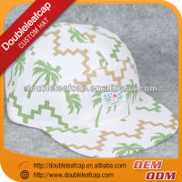 Custom flat peak cap 5 panel