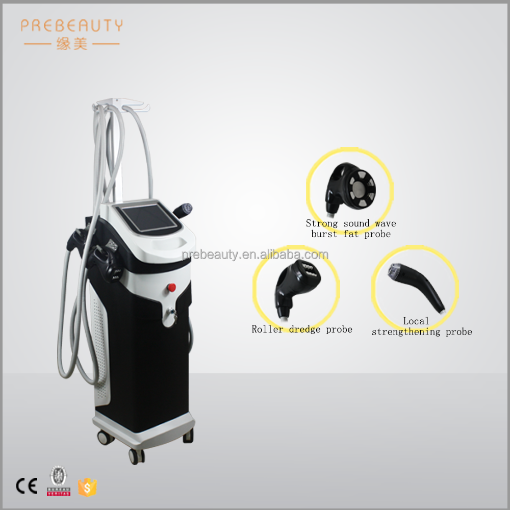 Latest Ultrasonic vacuum RF belly fat burnning machine