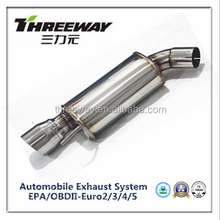 straight through magnaflow muffler with tip