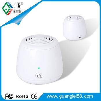 Mini ozone air purifier for shoe cabinet sterilizer small space air purification