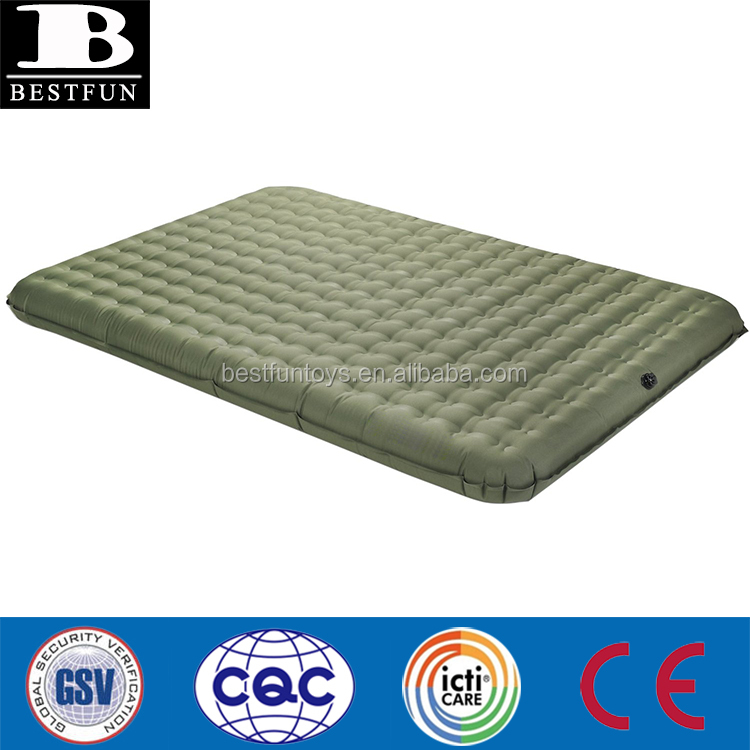 2 Person PVC-Free Air Bed Mattress for Camping and Travel inflatable TPU lightweight queen size double outdoor mattress