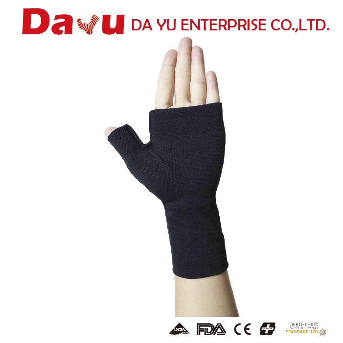 High quality medical graduated palm support compression gauntlet Made in Taiwan