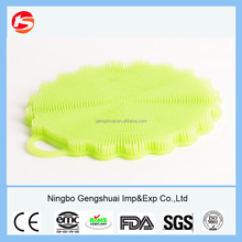 Silicone Scrubber Food grade small cleaning brush bathtub cleaning brushes small mini brush easy to clean