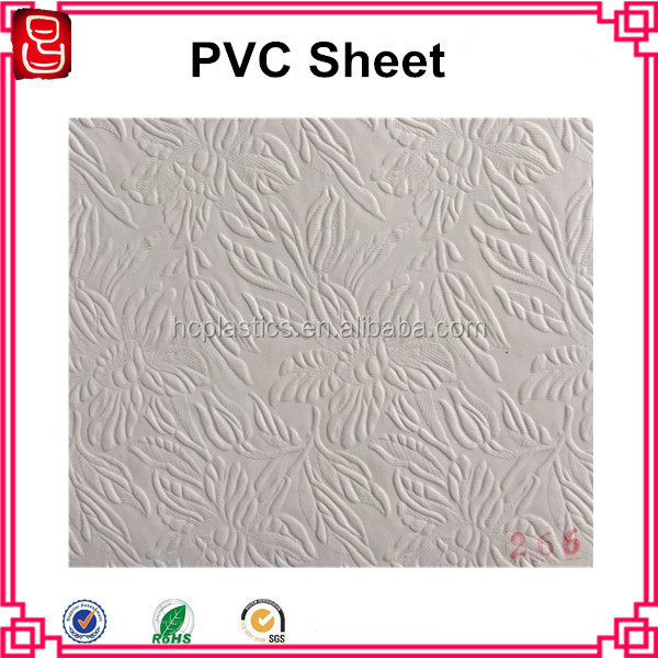 Decorative PVC Film For PVC Laminated Gypsum Ceiling Tiles