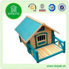 DXDH014 Dog Kennel with Leisure Porch for Sun Bathing