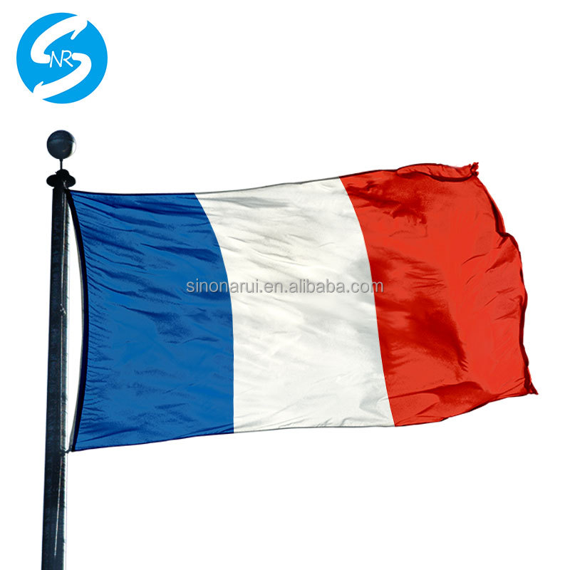 Wholesale High Quality 3x5 Ft Custom Printed Outdoor Adversiting Soccer Banner Europe France All Country Flag For 2018 World Cup