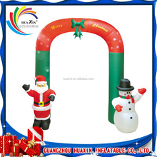 Christmas inflatable archway , decorative christmas arches