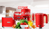 top sell supplier upscale market plastic automatic family kitchen appliances 120V 1000W battery operated coffee maker