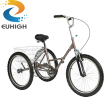 Hot sale used adult folding cargo tricycle
