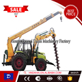 Auger Crane hydraulic Pile Driver Erection Equipment