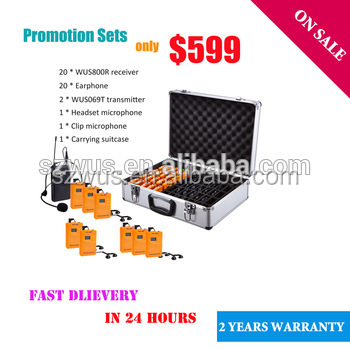 Best Quality Wireless Sound Audio System Tour Guide Equipment/wireless interpretation system/assistive listening System