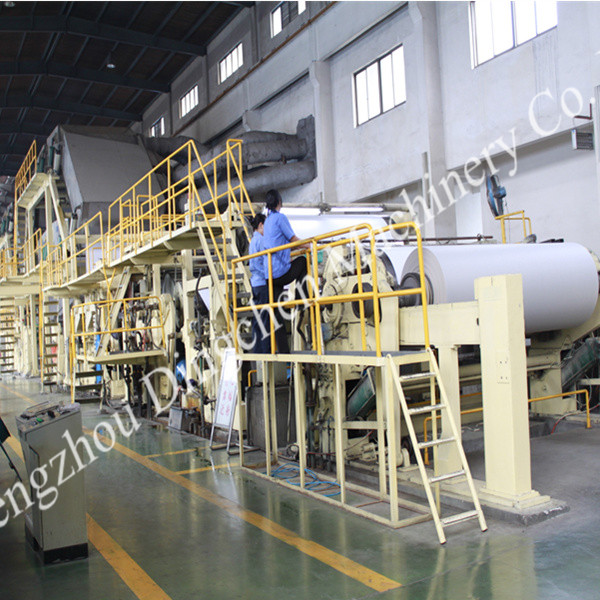 Paper product machines,newsprint cultural paper making machine use waste paper as material for recycling