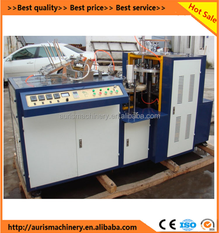 high speed automatic paper cup machine with handle/china paper cup making machine price on sale