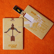 Plastic Company Gift Card 4G~32G USB Flash drive Membership Card