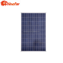 Shinefar 100w cheap price perfect service good quality of poly solar panel