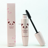 Korea pink cute panda mascara No shading waterproof