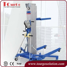 TourGo Crank Up Lifting Tower Max Load 300kg with Maximum Height 4.93m for Line Array Speaker