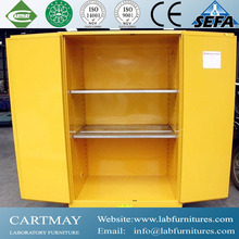 chemical laboratory double-layer steel flammable cabinets, anti-explosion, anti-radiation and high-temperature insulation