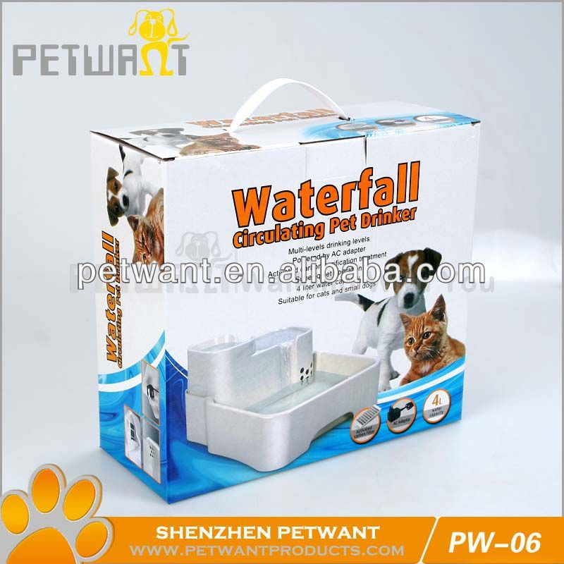 Auto Water Dog Fountain/pet water bottle with filter