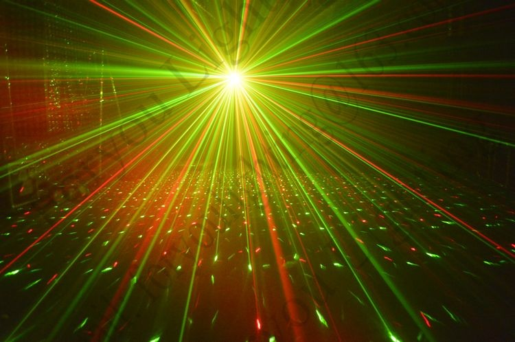 Disco DJ Party Swarm Wash FX Eight Eyes LED Strobe Laser Moonflower Effect Lighting