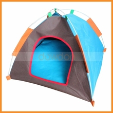 Outdoor Travel Home Waterproof Oxford Farbic Portable Folding Pets Dog Cat Tent