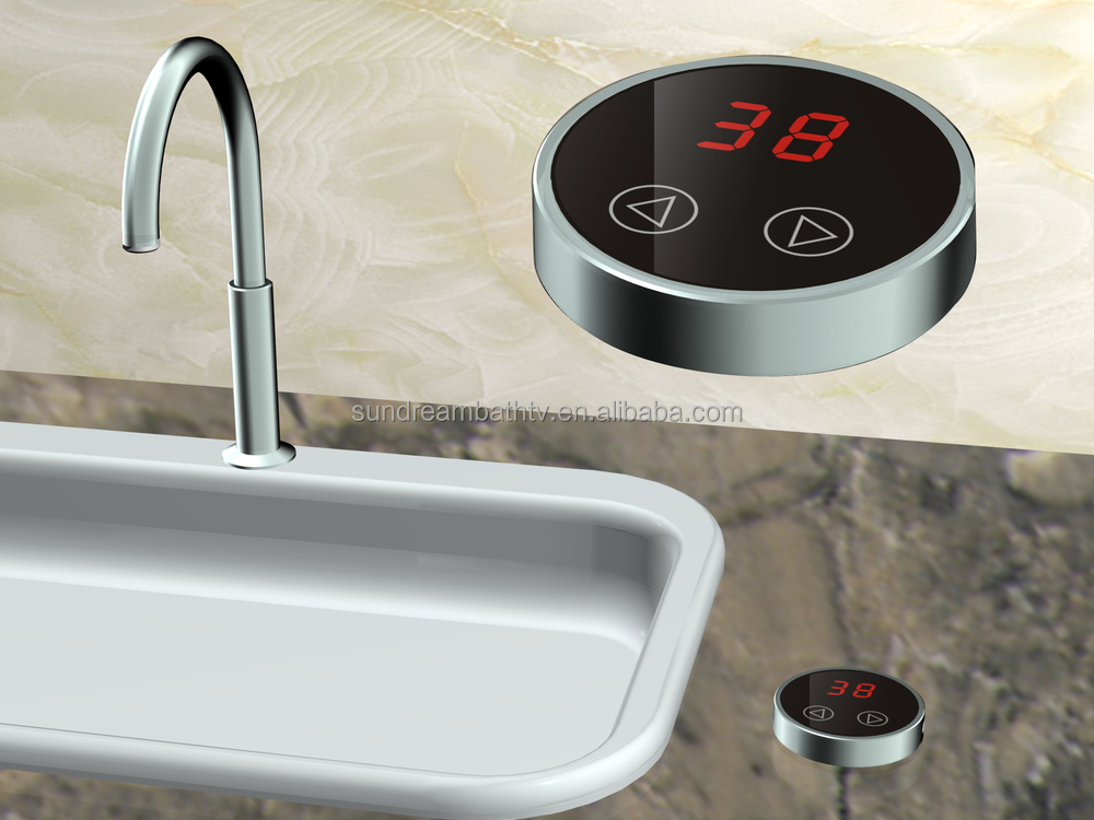 Flexible controller for kitchen faucet and shower