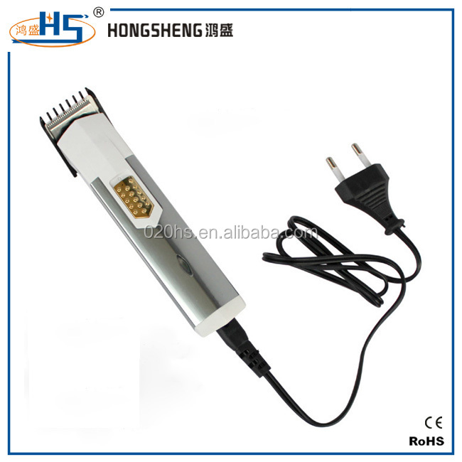 Professional electric hair clipper rechargeable human hair cutter