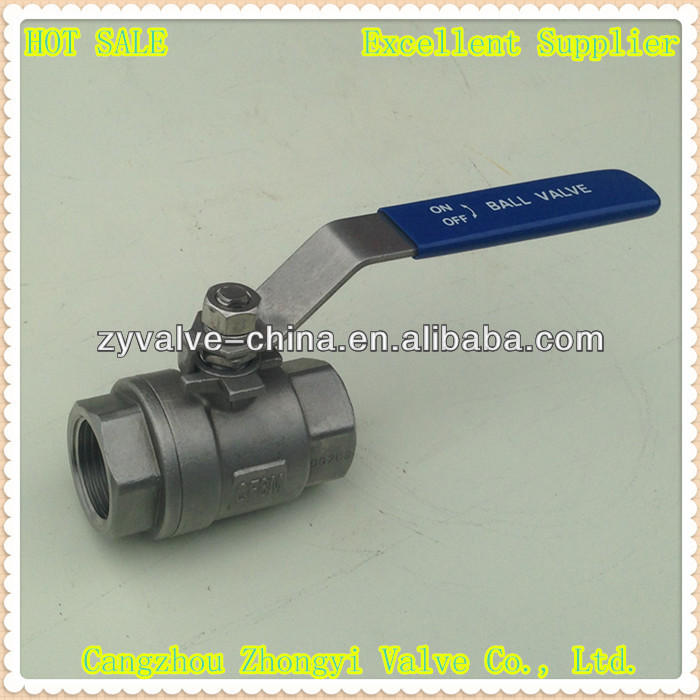 stainless steel 2000wog long stem ball valve