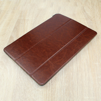 HOT Selling leather case with folding stand for ipad air 2