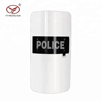 anti riot police polycarbonate shield
