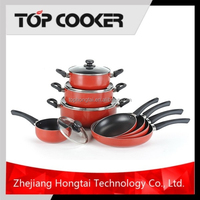 12pcs Prestige Aluminum Nonstick Cookware Set