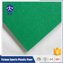 Indoor vinyl roll flooring / pvc sport flooring with foam back