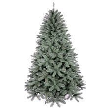 Beautiful silver tip christmas tree customized dense christmas tree with mental stand