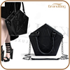 2016 New China factory women mini leather handbags wholesale lady clutch purse shoulder bag with strap