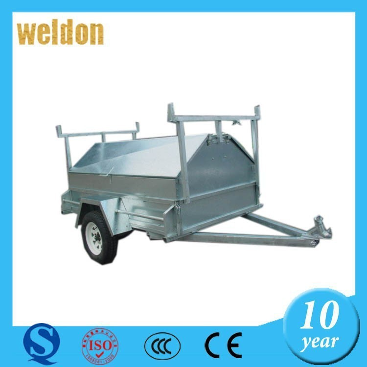 Weldon custom atv trailer metal sheet trailer sheet metal part for trailer