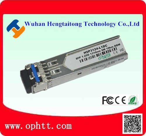 International Dual SFP 1.25G Fiber Module 1310nm 10KM