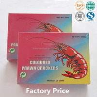 Colored Prawn Cracker with orign China Ex-factory price