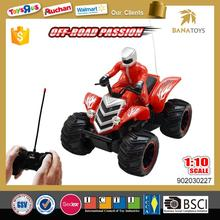 China price toys four wheel motorcycle for kids 1 10 rc nitro motorcycle