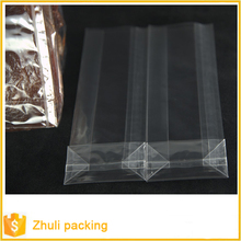 plastic bags stand up clear cello OPP side block bottom gusset bag for chocolate