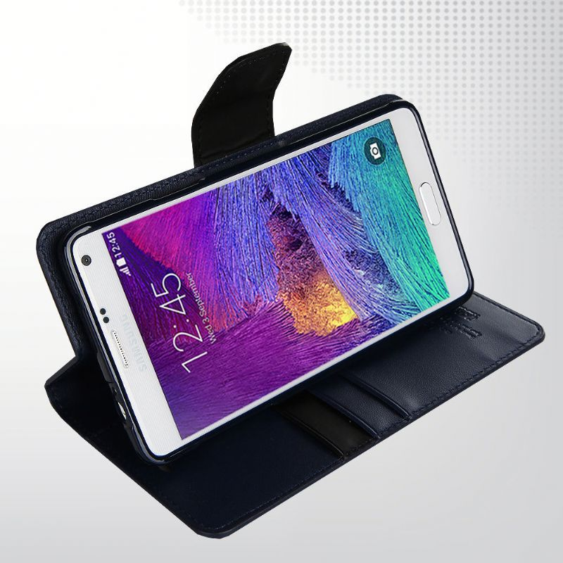 Card Slot Leather Case Cover Flip Cover For Samsung Galaxy Note 3 N9005