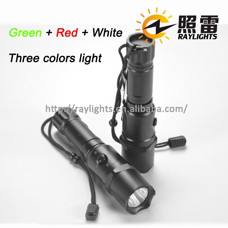 10W High Power Tactical Green Beam LED Flashlight 18650