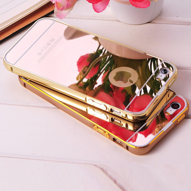 New Aluminium Hard Case Cover for iphone 5/5S, Slim Aluminum Mirror Case Skin for iphone 5, Phone Case Metal Case for iphone5